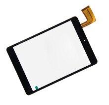 Nuevo 7.85 pulgadas Panel de pantalla táctil digitalizador de vidrio para TurboPad 704, RoverPad Sky 7.85 Tablet PC negro