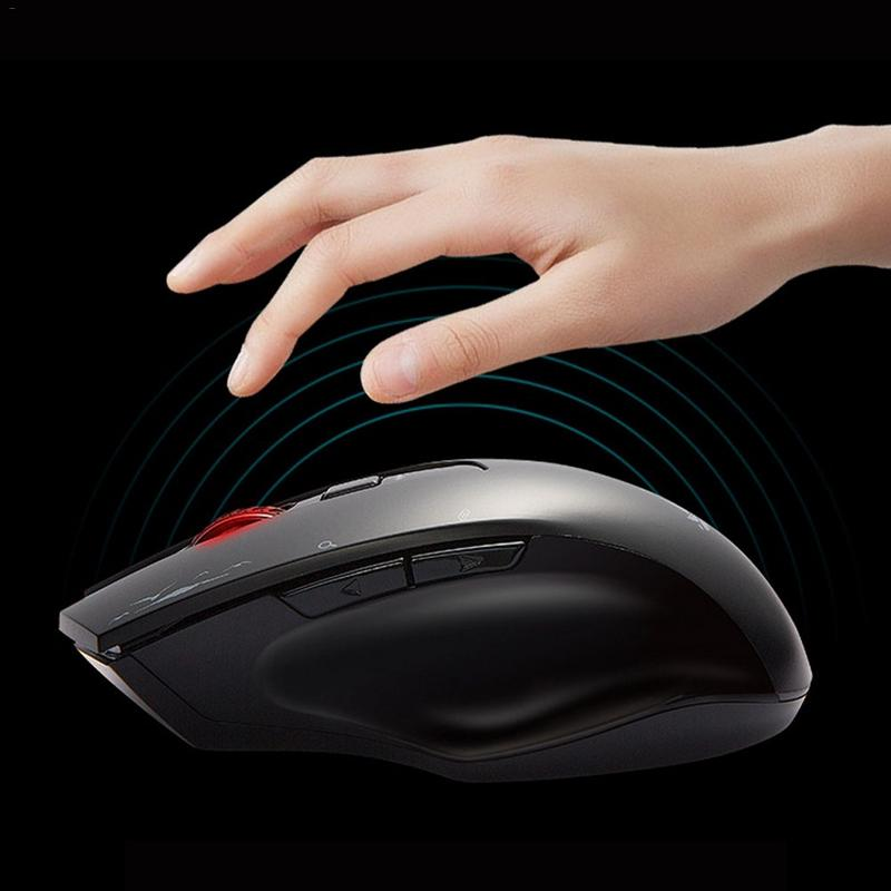 New Artificial Intelligence Wireless Voice Mouse Language Translation Intelligent Typing Search Charging Voice Control Mouse цена