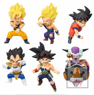 Dragon Ball Super World Collectable Figure BATTLE OF SAIYANS Vol.1 -Gokou,Vegeta,Barduck,Freeza,S Gokou,S Gohan- 100% Original original banpresto world collectable figure wcf the historical characters vol 3 full set of 6 pieces from dragon ball z