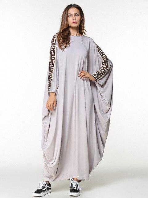 a30fd61f0de new arab elegant loose abaya kaftan islamic fashion muslim dress clothing  design women solid color dubai abaya