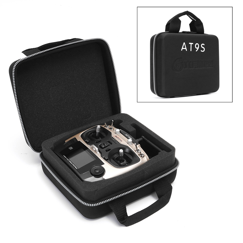 RC Waterproof Transmitter Portable Carrying Handbag Case Bag Box for Radiolink AT9S WFT07 WFT09II Spare Parts Accessories