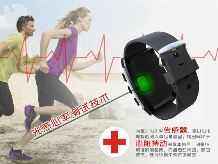 ФОТО UX heart rate compatible bluetooth smart watch heart smart watch IOS