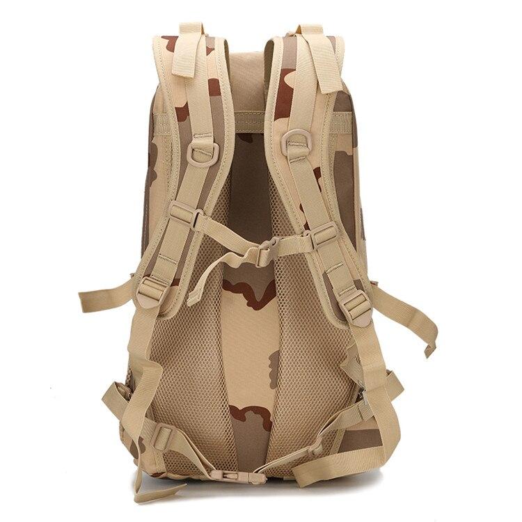 Камуфляж Молл 3 P тактический военный рюкзак Оксфорд спортивная сумка кемпинг альпинистские сумки путешествия Туризм рыболовные сумки - 3