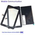 P3100 P3110 LCD Display + Touch Screen Digitizer For Samsung Galaxy Tab 2 7.0 P3100 P3110 Touch Glass Lens Panel Black White