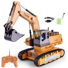 1:18 트럭 원격 제어 트랙터 rc 트럭 완구 2.4g 8 채널 rc 장난감 trator 드 controle remoto 제어 트럭 장난감