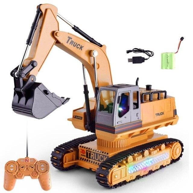 1:18 грузовик дистанционного Управление Трактор Игрушки для грузовых автомобилей Rc 2,4G 8 канальный видеорегистратор для Rc игрушки трактора De Управление e дистанционного управления Управление б/у игрушка