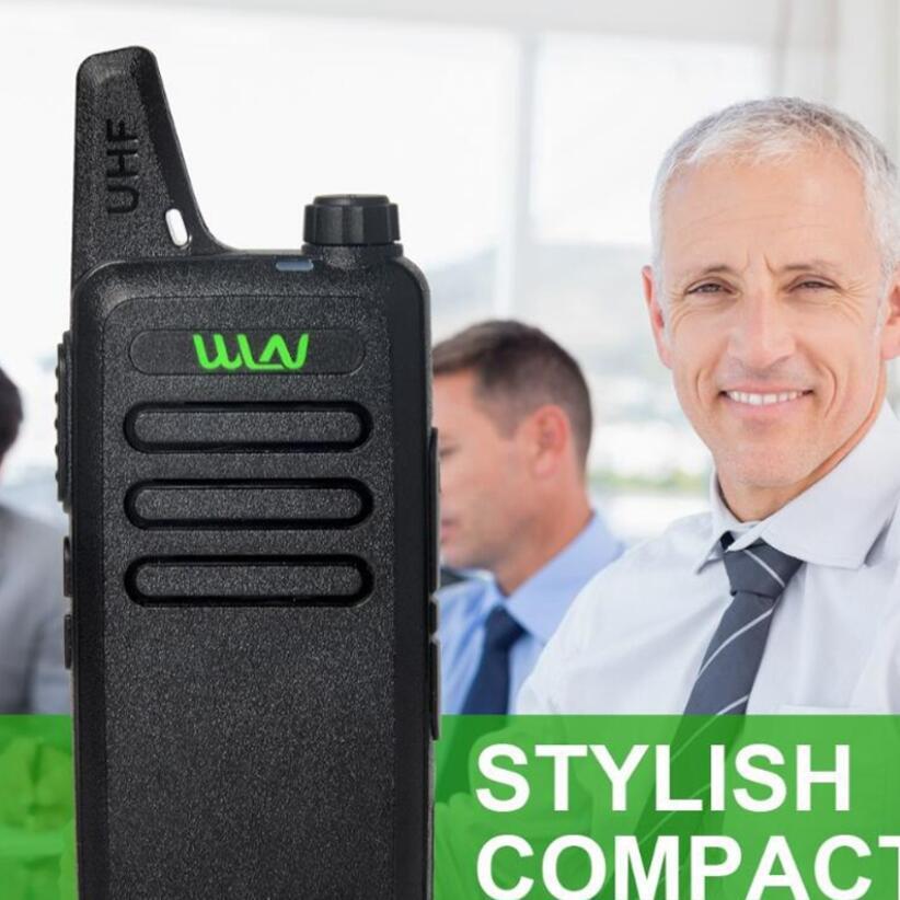 2pcsWLN KD C1 walkie talkie UHF 400 470MHZ kd c1 CB Radio Portable Walkie talkies new