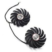 2pcs Lot 95mm Computer Radiator Cooler Fans Video Card Cooler Fan For MSI GTX1080 GTX1070 GTX1060