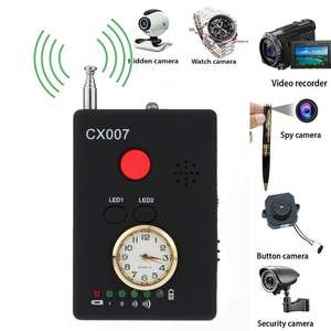 Signal-Detector-Finder Cell-Phone Anti-Candid Wireless-Camera Bug Full-Range RF GPS CX007