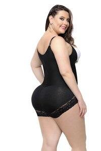 Image 2 - Vrouwen Plus Size Shapewear Afslanken Ondergoed Gordel Bodysuit Taille Shaper Slanke Vormen Voor Vrouwen Controle Broek Plus Size 6XL