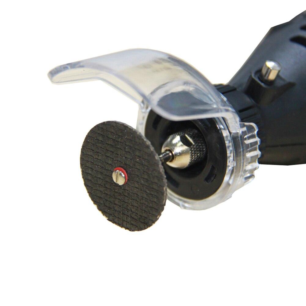 25pcs/Set 32mm Double Net Surface Section Grinding Wheel Piece Fiberglass Reinforced Cut Off Wheel Fit Dremel Tool