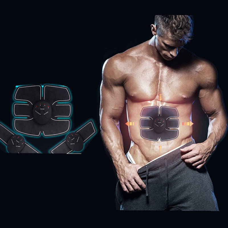 цена на Fitness Slimming Body Muscle Trainer Butterfly ab Gymnic Belt Massager Pad Abdominal Muscle Exerciser Belts Fat Burner KXS-12