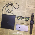 minimalist zero wallet Halter mobile phone bag RETRO art cigarette packet Bag Shoulder Satchel mini mobile phone bag