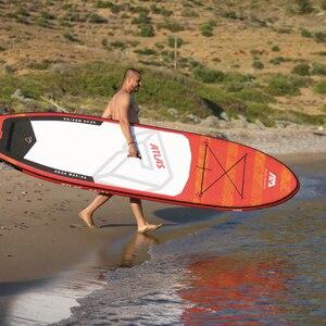 Image 1 - AQUA MARINA ATLAS planche de surf gonflable, palette debout, 366x84x15cm