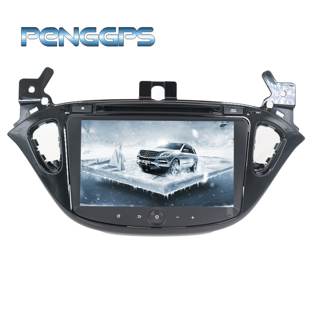 8 Inch 2 Din Android 8 0 Car DVD Player 8 Core GPS Navigation for Opel