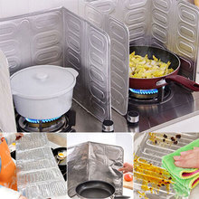 Oil-Proof Kitchen OilSplashGuard Removable Splash Guard Oil Frying Cooking Stove Gas Scald Kitchenware Board Clean-Up Foil
