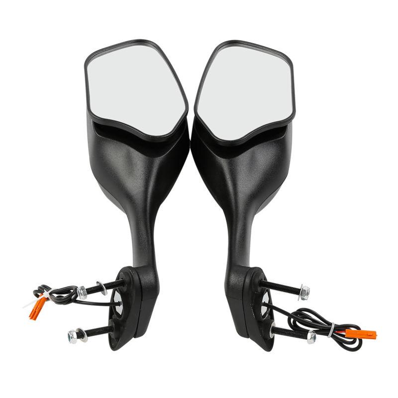 Rear View Mirrors W/ LED Turn Signal For Honda CBR1000RR CBR 1000 RR 2008-2012 все цены