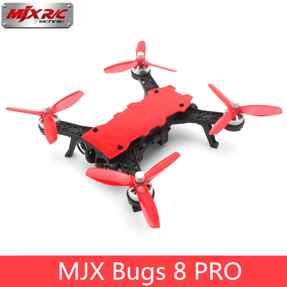 MJX B8 Pro Bugs 8 Pro RC Drone Quadcopter Brushless With 2204 1800KV Motor 3D Flips Remote Control Drone Toy Aircraft VS Bugs3 6 sabian 18 b8 pro chinese