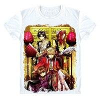 애니메이션 Saiyuki 다시로드 폭발 t 셔츠 Genjo Sanzo 손오공 티셔츠 만화 기념품 티 셔츠 일본 클래식 디자인 tshirt 선물