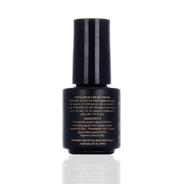 Rosalind 1pcs Matt Top Coat Nail Art UV Gel Polish 7ml Matte Top Coat LED UV Soak Off Hot Sale UV Gel Polish