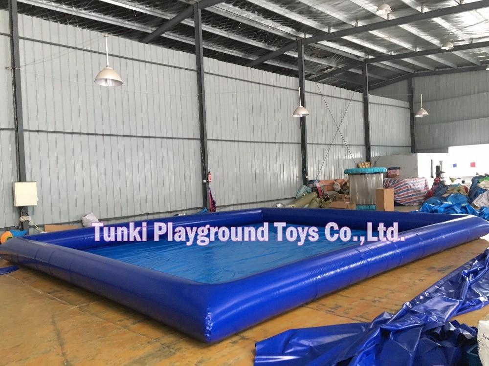 6*8*0.5m rectangle inflatable pool PVC waterproof  swimming pool