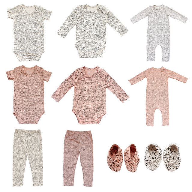 New Born Baby Clothes Rompers Warm Spring Autumn Cotton Romper Playsuit Clothes Christmas Clothes Baby Costume