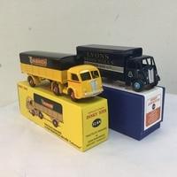 DEFECT 2PCS Atlas USED DINKY TOYS 32AN REMORQUE&SUPERTOYS 514 GUY VAN DIECAST Car Model Alloy Diecast Car model & Toys Model