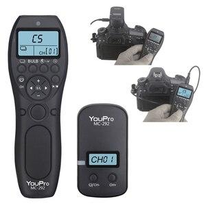Image 1 - Cable de liberación de obturador con Control remoto, temporizador inalámbrico para Canon, Nikon, Sony, Olympus, Fujifilm, Panasonic, Samsung, Contax, Fuji, Pentax