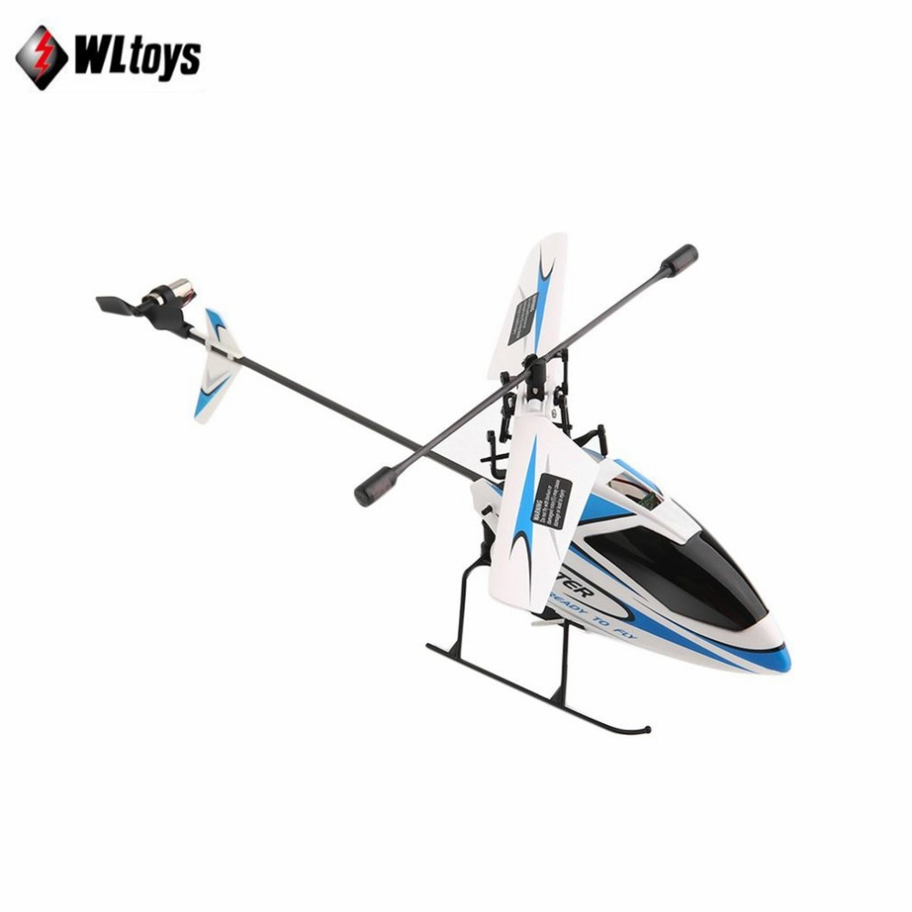 лучшая цена WLtoys V911 RC Helicopter 2.4G 4CH Single Blade High efficiency Motor with Transmitter Suitable for both Indoor Outdoor tz