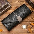Women Genuine Leather Clutch Bag 2017 New Fashion Crocodile Evening Bag Shoulder Bag\Messenger Bag~13B298