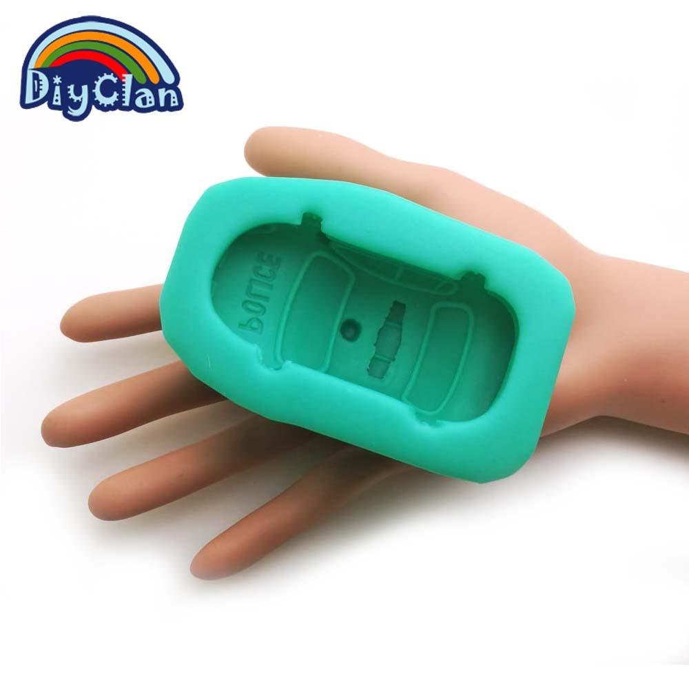 Əl istehsalı DIY silikon dekorativ avtomobil tökmə 3D polis - Mətbəx, yemək otağı və barı - Fotoqrafiya 3