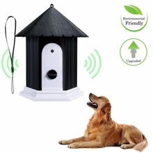 Pet Dog Stop Barking Ultrasonic Anti Barking Stop Bark Device Outdoor Waterproof Dogs Training Repeller Control Tool ultrasonic audible control no bark collar stop barking dog training device
