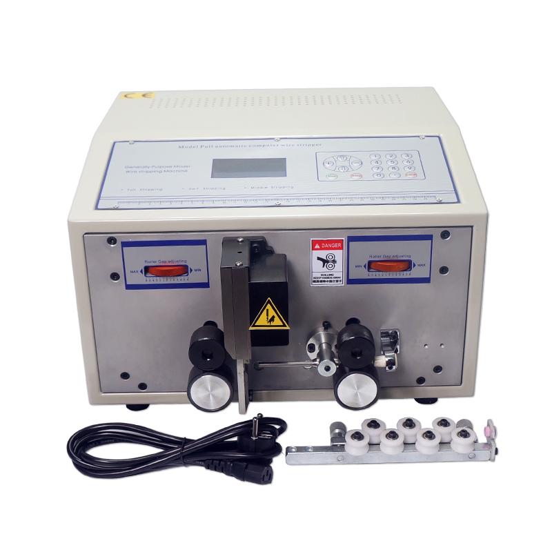 Gran oferta SWT508C pelado automático máquina de alambre despellejar Alambre de corte máquina computadora 2.5mm2