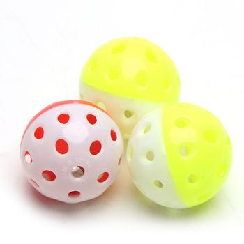 Zabawka dla papugi ptak Hollow Bell piłka dla papużki falistej żuć zabawne zabawkowe klatki tanie i dobre opinie Let's Pet CN (pochodzenie) Ptaki Z tworzywa sztucznego