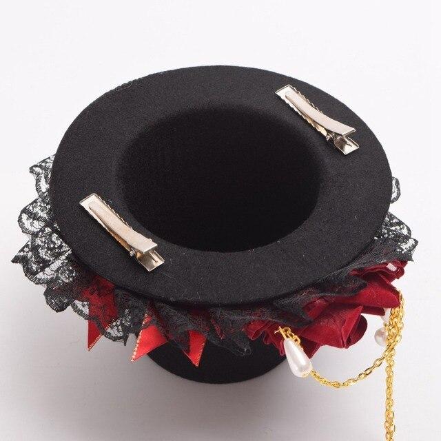 Шляпка готическая лолита 5
