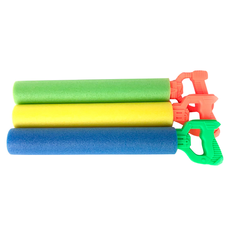 Pull-Type Eva Straight Water Cannon Sponge Water Jet Toy Children Beach Drifting Toy Water Cannon