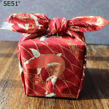 Japanese style wrap the cloth kerchief cotton 100%/cyprinoid printed /Many uses