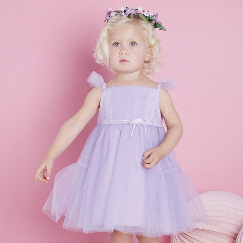 DB2160 dave bella summer baby girl princess dress baby purple party dress kids birthday clothes dress girls Lolita dress db5498 dave bella baby girl lolita dress stylish printed peter pan collar dress toddler children dress