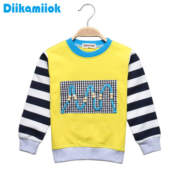 New Fashion Children Clothing Spring Autumn Cotton Baby Boys Girls T-shirt Long Sleeve TShirts Tops round neck t shirt for kids