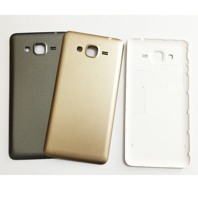new product f5fce e56e5 US $11.38 9% OFF|10 Pcs New Battery Back Cover For Samsung Galaxy Grand  Prime G530 G530H G531 G531H Rear Housing Door Case Gray White Gold Color-in  ...