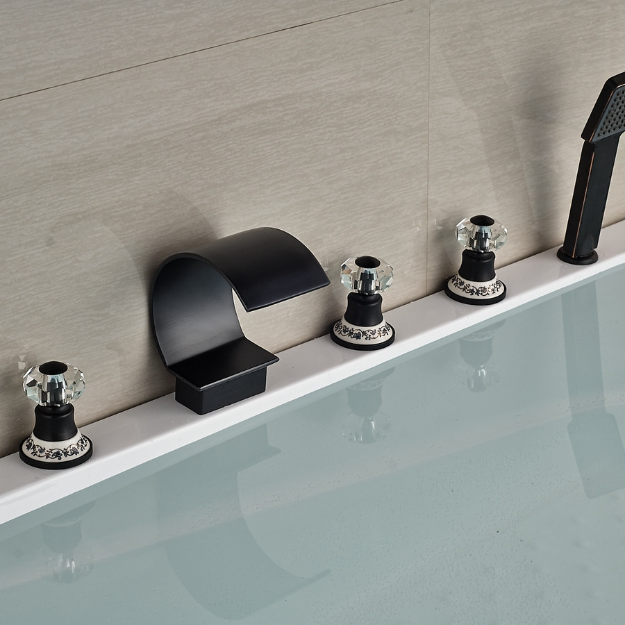 Wholesale And Retail Oil Rubbed Bronze Wall Mounted Bathroom Tub ...