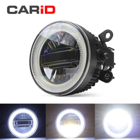 CARiD Fog Lamp LED Car Light Daytime Running Light DRL 3 in 1 Functions Auto Projector Bulb For Ford Ka 2008 2013 2014 2015 2016
