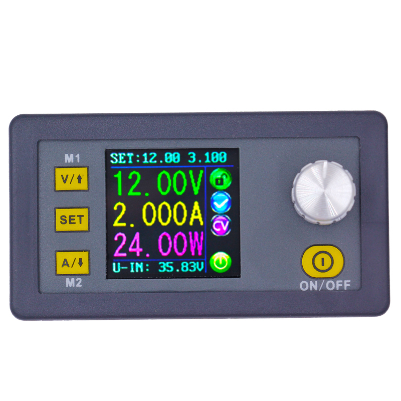 DPH3205 Color LCD Digital Control Power Supply Buck-Boost Constant Voltage current voltmeter Ammeter 160W 50% magicard rio pro duo ms