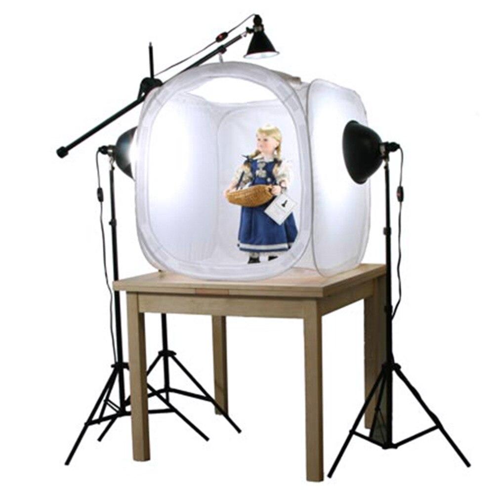 Studio Lighting Cheap: Hot 30x30cm Round Folding Photo Studio Tent Softbox Light