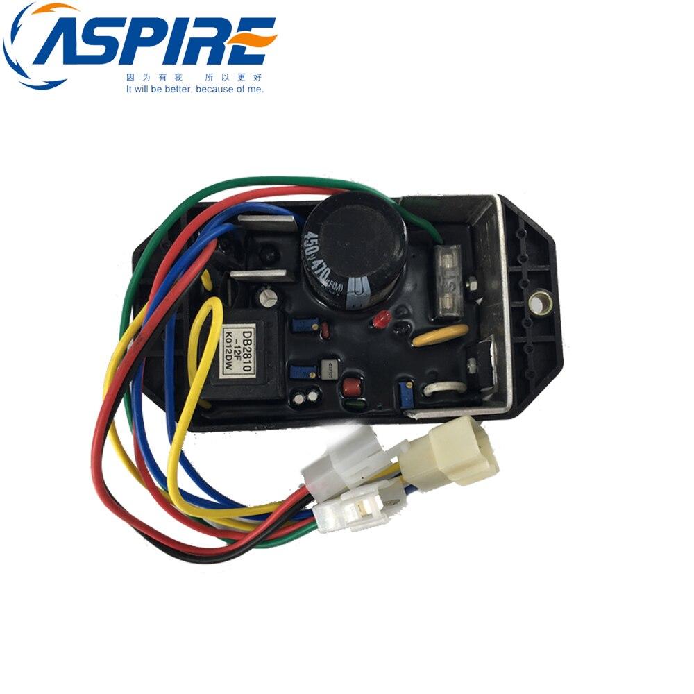 Diesel Generator Voltage Regulator KI DAVR 50S 10 wires KI DAVR 50S Generators Engine Free Shipping