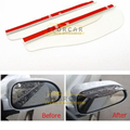 2pcs Universal Car View Side Mirror Rain Shield Flexible Car Guard Rear View Mirror Rear View Deflector Rain Visor Shade EA5096