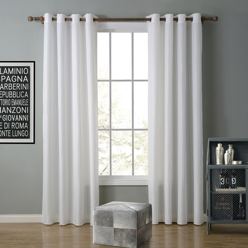 SunnyRain 1 Piece Oxford Semi Blackout Curtain For Living Room Curtain For  Bedroom Window Curtains Drapes Punching Cotina In Curtains From Home U0026  Garden On ...