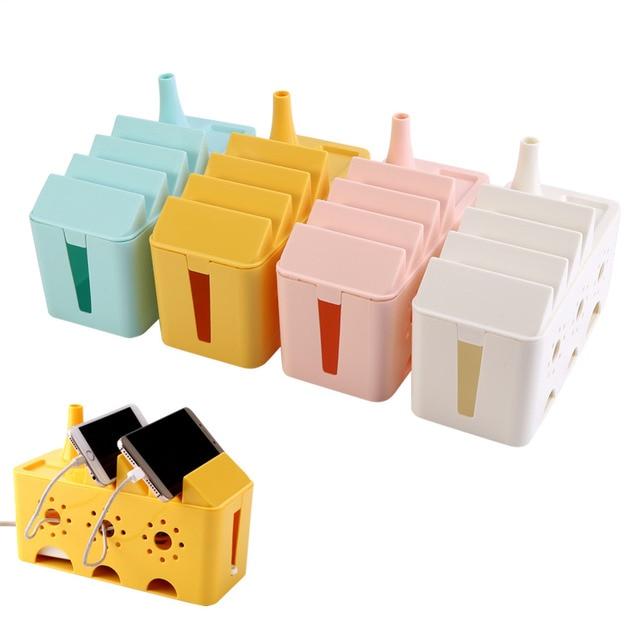 Kunststoff Draht Box Kabel Aufbewahrungsbox Steckdosenleiste ...