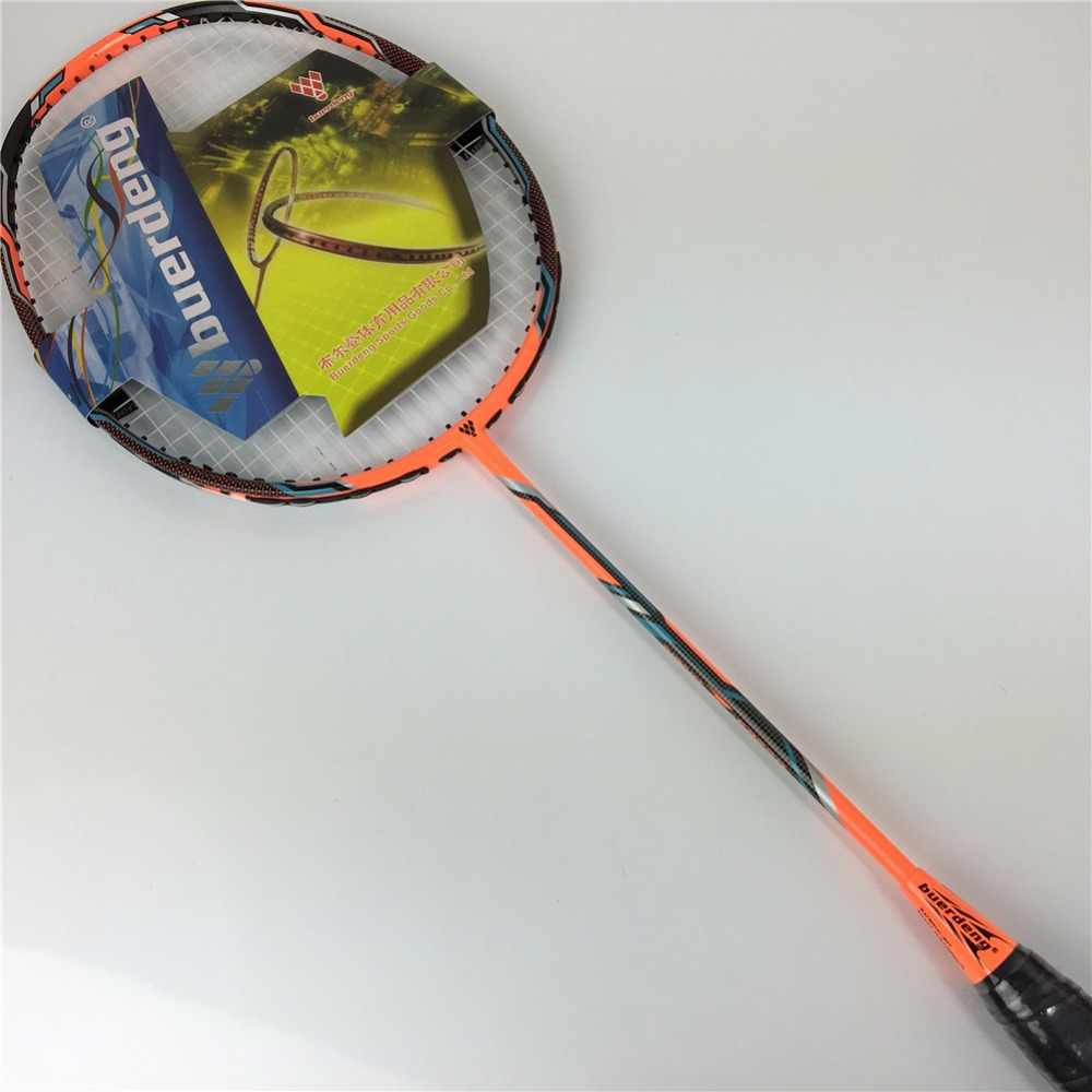 2019 New Hot badminton racket Nano graphite badminton rackets with string vt z force ii 100% carbon racket man professional