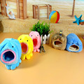 Cute Warm Hamster House Cage Bunny Chinchillas Squirrel Nest Hammock Parrot Mini Animals Guinea Pigs Nest with Mat